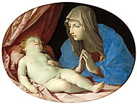 Virgin and Child adoring, 1642, reni