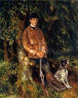 Alfred Berard and His Dog, renoir