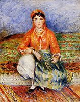 Algerian Girl, 1881, renoir