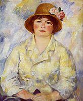 Aline Charigot (future Madame Renoir), 1885, renoir