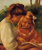 The Alphabet (Jean and Gabrielle), c.1897, renoir