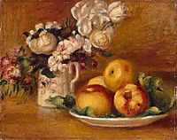 Apples and Flowers, renoir