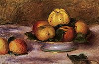 Apples and Manderines, c.1890, renoir