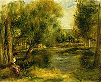 Banks of the River, renoir
