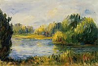 The Banks of the River, renoir