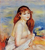 Bather, 1887, renoir