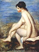 Bather, 1893, renoir