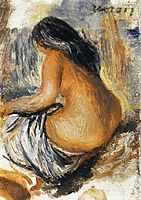 Bather from the Back, renoir