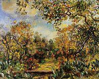 Beaulieu Landscape, 1893, renoir