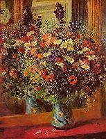 Bouquet in front of a Mirror, 1877, renoir