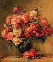 Bouquet of Roses, 1900, renoir
