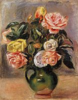 Bouquet of Roses, renoir
