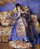 Camille Monet Reading, 1872, renoir