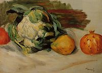 Cauliflower and Pomegranates, c.1890, renoir