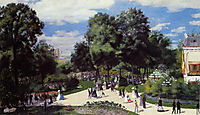 The Champs Elysees during the Paris Fair of 1867, 1867, renoir