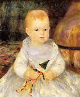 Child with Punch Doll, 1875, renoir