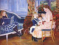 Children`s Afternoon at Wargemont (Marguerite), 1884, renoir