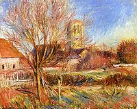 The Church at Essoyes, renoir