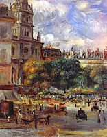 Church of the Holy Trinity in Paris, 1893, renoir