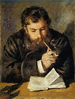 Claude Monet (The Reader), 1874, renoir