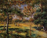 Clearing, 1895, renoir