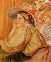 Coco and Two Servants, 1910, renoir