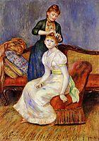 The Coiffure, 1888, renoir