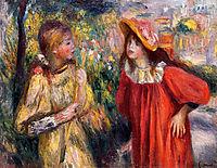 The Conversation, 1895, renoir