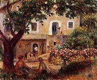 The Farm, 1914, renoir