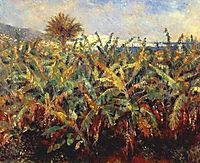 Field of Banana Trees, 1881, renoir