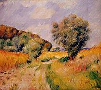 Fields of Wheat, 1885, renoir