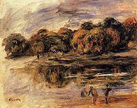 Fishermen by a Lake, renoir