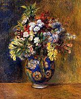 Flowers in a Vase, 1878, renoir