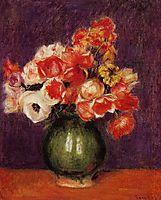 Flowers in a Vase, 1901, renoir