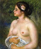 Gabrielle with a Rose (The Sicilian Woman), c.1899, renoir