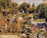 The Garden at Fontenay, 1874, renoir