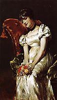A Girl, c.1885, renoir