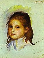 Girl with Brown Hair, renoir