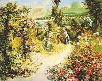 The greenhouse, 1876, renoir