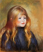 Head of a Child (Edmond Renoir), c.1888, renoir