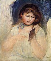 Head of Gabrielle, 1895, renoir
