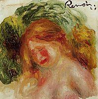 Head of a Woman, c.1918, renoir