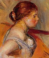 Head of a Young Girl, 1880, renoir