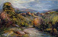 The Hills of Cagnes, renoir