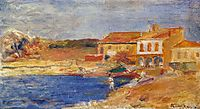 Houses by the Sea, 1912, renoir