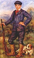 Jean Renoir as a Hunter, 1910, renoir