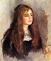 Julie Manet, 1894, renoir