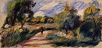 Landscape, 1890, renoir