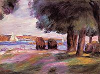Landscape, 1895, renoir