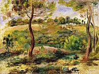 Landscape, 1915, renoir
